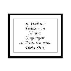 The Portuguese/Brazilian Framed Panel Print