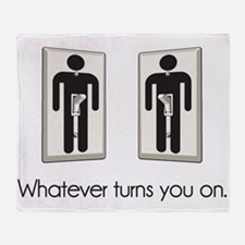 Whatever Turns You On Gay Male Light Switch Throw