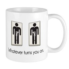 Whatever Turns You On Gay Male Light Switch Mugs