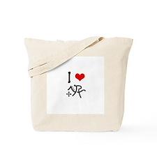 I love Modern Pentathlon Tote Bag