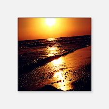 "Sunset Square Sticker 3"" x 3"""