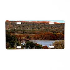Sennebec Lake, Union, Maine Aluminum License Plate
