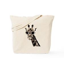 Giraffe With Steampunk Sunglasses Goggles Tote Bag