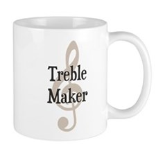 Treble Maker Clef Musical Trouble Maker Mugs