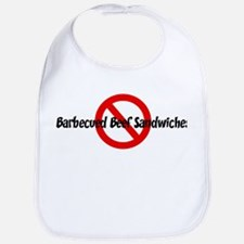Anti Barbecued Beef Sandwiche Bib
