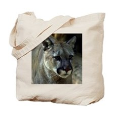 Young Cougar Tote Bag