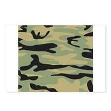 Green Army Camo Postcards (Package of 8)