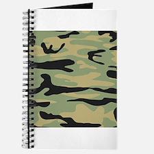 Green Army Camo Journal