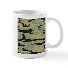 Green Army Camo Mugs