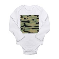 Green Army Camo Body Suit