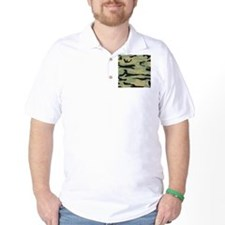 Green Army Camo T-Shirt