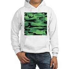 Green Camouflage Camo print Jumper Hoody