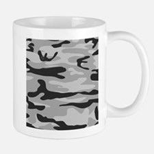 Grey Army Camo Mugs