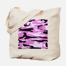 Light pink army camo Tote Bag