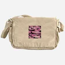 Light pink army camo Messenger Bag