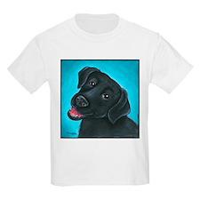 Black Lab Bunny T-Shirt