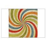 Psychedelic Retro Swirl Posters