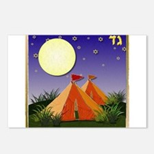 12 tribes Israel Gad Postcards (Package of 8)