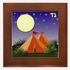 12 tribes Israel Gad Framed Tile