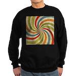 Psychedelic Retro Swirl Sweatshirt