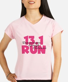 13.1 Run Pink Performance Dry T-Shirt