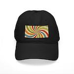 Psychedelic Retro Swirl Baseball Hat