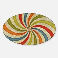 Psychedelic Retro Swirl Decal