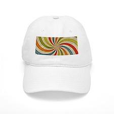 Psychedelic Retro Swirl Baseball Cap