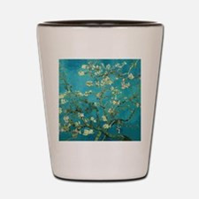 Vincent Van Gogh Blossoming Almond Tree Shot Glass