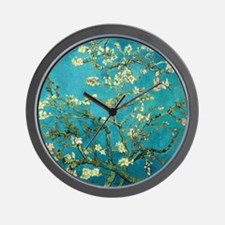 Vincent Van Gogh Blossoming Almond Tree Wall Clock
