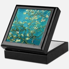 Vincent Van Gogh Blossoming Almond Tr Keepsake Box