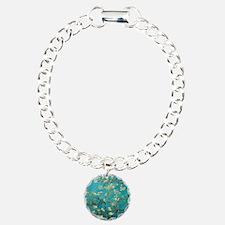 Vincent Van Gogh Blossom Charm Bracelet, One Charm
