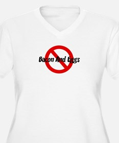 Anti Bacon And Eggs T-Shirt