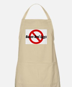 Anti Bacon And Eggs BBQ Apron