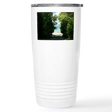 Peek a boo Bushes  Travel Mug