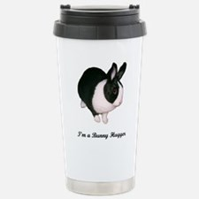 Funny Dutch rabbit Travel Mug