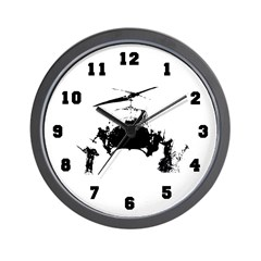 1st Cavalry Division Wall Clock