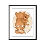 Momma Bear Framed Panel Print