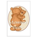 Momma Bear Large Poster