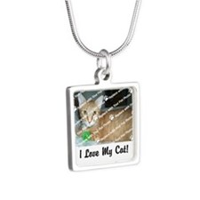 CUSTOMIZE Add Photo Love Cat Necklaces