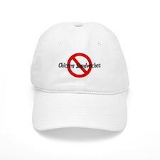 Anti Chicken Sandwiches Baseball Cap