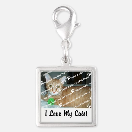 CUSTOMIZE Add Photo Love CatS Charms