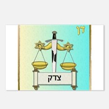 12 Tribes Israel Dan Postcards (Package of 8)