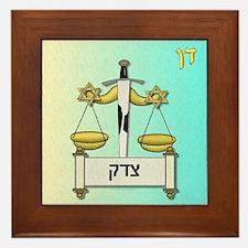 12 Tribes Israel Dan Framed Tile