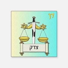 12 Tribes Israel Dan Sticker
