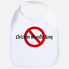 Anti Chicken Noodle Soup Bib