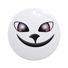 Alley Cat Grin Ornament (Round)