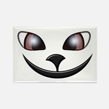 Alley Cat Grin Rectangle Magnet