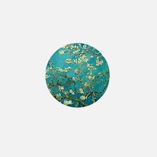 Vincent Van Gogh Blossoming Almond Tre Mini Button