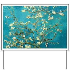 Vincent Van Gogh Blossoming Almond Tree Yard Sign